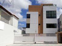 Excelente apto térreo com 50,00m²+7,00m² área externa, móveis projetados, área de lazer.