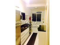 Apartamento no Bairro do Vila Osasco - Osasco SP, com 60 m², sendo 2 dormitórios, sala, cozinha, banheiro e 1 vaga de garagem