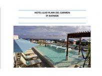 Venta hotel boutique 5 Avenida Playa del Carmen