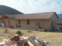 Terreno con casa 90 m2, árboles frutales, sup 5200 m2, KM 15