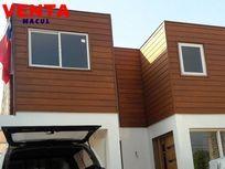 Casa nueva tipo moderna 4 dorm. 3b Villa Macul