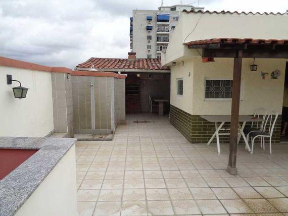 "Cobertura-À VENDA-<span itemprop=""addressLocality"">Cachambi</span>-Rio de Janeiro"