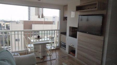 """Apartamento com 3 dormitórios à venda, 90 m² por <span itemscope="""""""" itemtype=""""http://schema.org/TradeAction""""><span itemprop=""""price"""">R$ 575.000</span></span>- Jardim Aquarius - São José dos Campos/SP"""