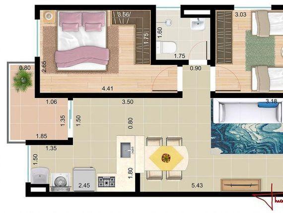 """Apartamento Padrão - Alto da Boa Vista - <span itemprop=""""addressLocality"""">Sorocaba</span> -Venda"""