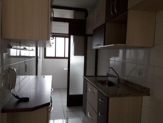 """Apartamento com 2 dormitórios à venda, 56 m² por <span itemscope="""""""" itemtype=""""http://schema.org/TradeAction""""><span itemprop=""""price"""">R$ 405.000</span></span>- <span itemprop=""""addressLocality"""">Taboão</span> - São Bernardo do Campo/SP"""