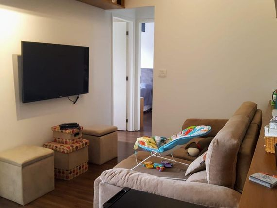 """Apartamento com 2 dormitórios 1 suíte à venda, por <span itemscope="""""""" itemtype=""""http://schema.org/TradeAction""""><span itemprop=""""price"""">R$ 630.000</span></span>- <span itemprop=""""addressLocality"""">Brooklin</span> - São Paulo/SP"""