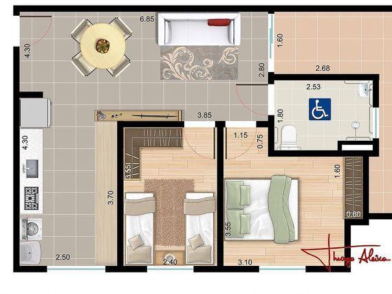 """Apartamento padrão - Alto da Boa Vista - <span itemprop=""""addressLocality"""">Sorocaba</span> - Venda"""