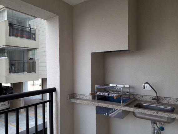 """Apartamento com 1 dormitório à venda, 65 m² por <span itemscope="""""""" itemtype=""""http://schema.org/TradeAction""""><span itemprop=""""price"""">R$ 399.000</span></span>- Vila Dusi - São Bernardo do Campo/SP"""