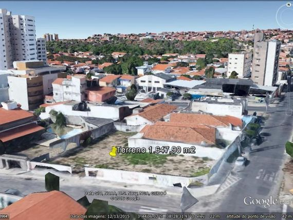 "Terreno à venda, 1647 m² por <span itemscope="""" itemtype=""http://schema.org/TradeAction""><span itemprop=""price"">R$ 4.119.750</span></span>- <span itemprop=""addressLocality"">Papicu</span> - Fortaleza/CE"