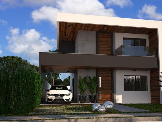 Casa duplex com 4 quartos à venda, 130 m², área de lazer, condomínio fechado, financia  - Mangabeira - Eusébio/CE
