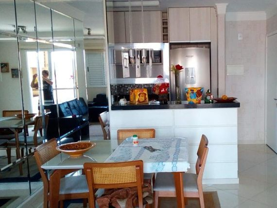 """Apartamento com 3 dormitórios à venda, 74 m² por <span itemscope="""""""" itemtype=""""http://schema.org/TradeAction""""><span itemprop=""""price"""">R$ 550.000</span></span>- <span itemprop=""""addressLocality"""">Tatuapé</span> - São Paulo/SP"""