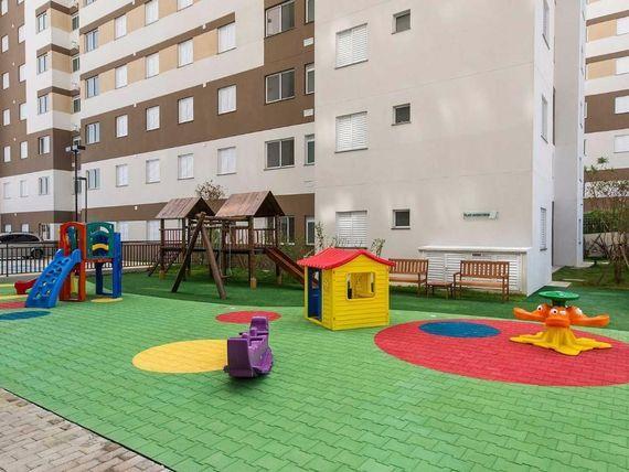 """Residencial Ello Home Club <span itemprop=""""addressLocality"""">Itaquera</span> 2 Dorms 1 Vaga Lazer Completo"""