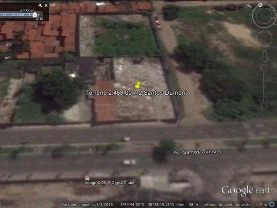 "Terreno à venda, 2468 m² por <span itemscope="""" itemtype=""http://schema.org/TradeAction""><span itemprop=""price"">R$ 12.340.000</span></span>- <span itemprop=""addressLocality"">Papicu</span> - Fortaleza/CE"