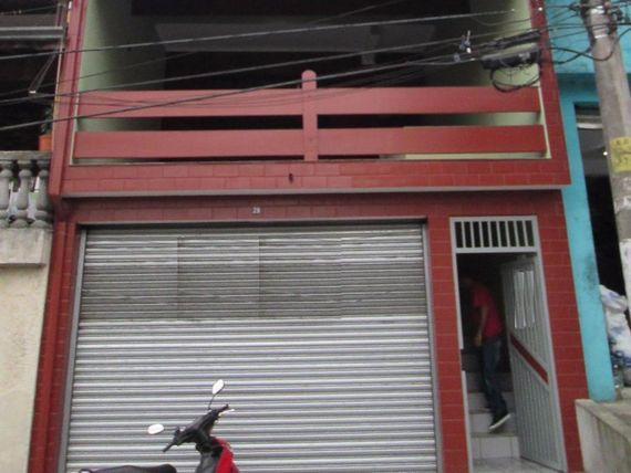 """Salão comercial para locação, <span itemprop=""""addressLocality"""">Baeta Neves</span>, São Bernardo do Campo - SL2299."""
