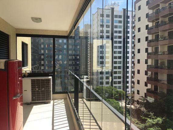 """Apartamento com 4 dormitórios à venda, 152 m² por <span itemscope="""""""" itemtype=""""http://schema.org/TradeAction""""><span itemprop=""""price"""">R$ 850.000</span></span>- Jardim Aquarius - São José dos Campos/SP"""