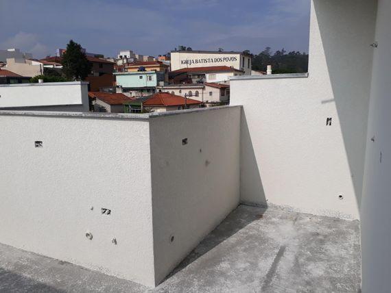 "Cobertura com 2 dormitórios à venda, 76 m² por <span itemscope="""" itemtype=""http://schema.org/TradeAction""><span itemprop=""price"">R$ 220.000</span></span>- Vila Tibiriçá - <span itemprop=""addressLocality"">Santo André</span>/SP"