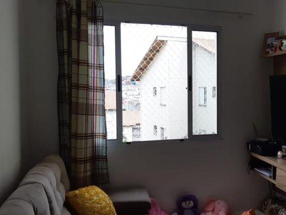 """Apartamento com 2 dormitórios à venda, 46 m² por <span itemscope="""""""" itemtype=""""http://schema.org/TradeAction""""><span itemprop=""""price"""">R$ 160.000</span></span>- <span itemprop=""""addressLocality"""">Jardim Triângulo</span> - Ferraz de Vasconcelos/SP"""