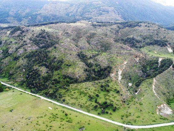 Hermoso Campo a pocos kilometros de Puerto Rio Tranquilo