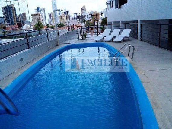 """2823 - Apartamento para vender, <span itemprop=""""addressLocality"""">Manaíra</span>, João Pessoa, PB"""