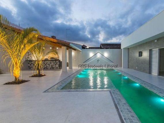 """Casa no Flórida em <span itemprop=""""addressLocality"""">Praia Grande</span> - SP"""