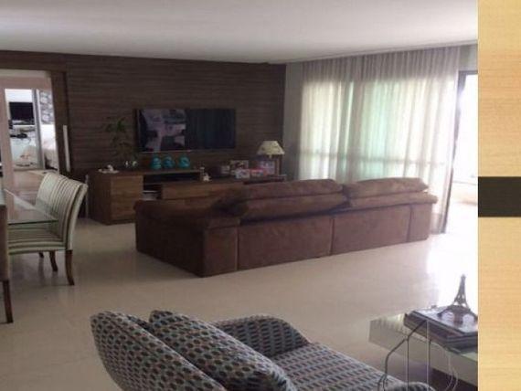 Apartamento no LE PARC com 142m2, Nascente.