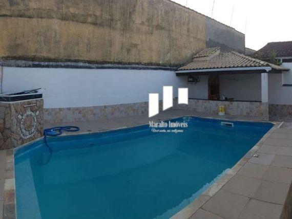 """Casa 3 quartos ,suite, piscina, churrasqueira, Bal. Maracanã, <span itemprop=""""addressLocality"""">Praia Grande</span>"""