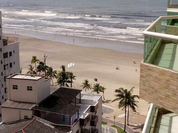 """Apartamento 3 drmt vista mar Em <span itemprop=""""addressLocality"""">Praia Grande</span> SP."""