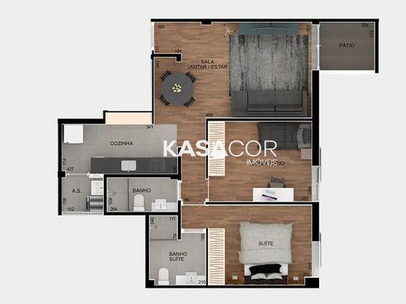 """Apartamento com 2 quartos e Vagas na <span itemprop=""""streetAddress"""">R Apiacás</span>, São Paulo, <span itemprop=""""addressLocality"""">Perdizes</span>"""