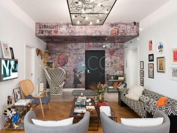 """Apartamento com 3 quartos e 3 Salas na <span itemprop=""""streetAddress"""">Av Higienópolis</span>, São Paulo, <span itemprop=""""addressLocality"""">Consolação</span>"""