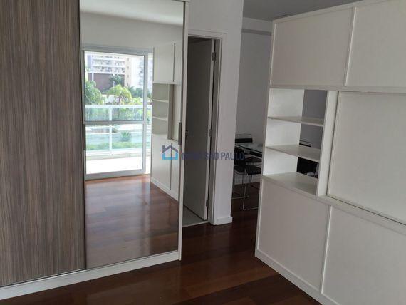 """Apartamento com 1 quarto e Vagas na <span itemprop=""""streetAddress"""">R Professor José Leite E Oiticica</span>, São Paulo, <span itemprop=""""addressLocality"""">Brooklin</span>"""