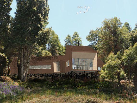 Espectacular Casa a Orillas del Lago Colico