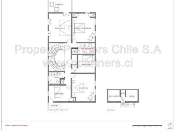 Casa con uso comercial
