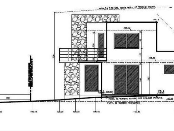 Venta en blanco. Casa estilo mediterráneo, Lomas de Montemar