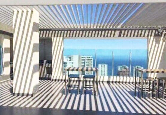 Magnífico departamento con vista al mar, a pasos de Av. Edmundo Eluchans