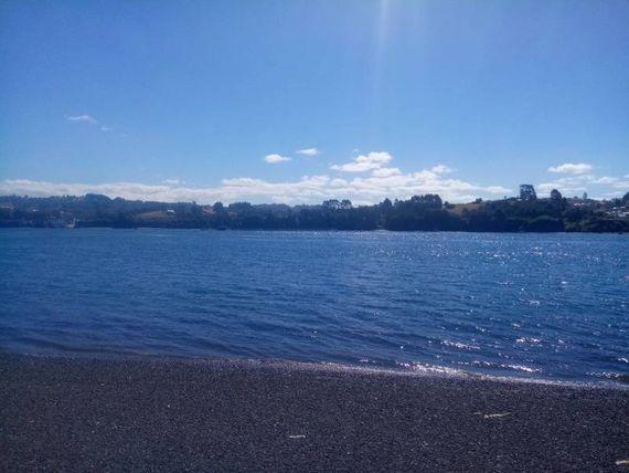 Lugar estratégico en Quinchao, con orilla de mar