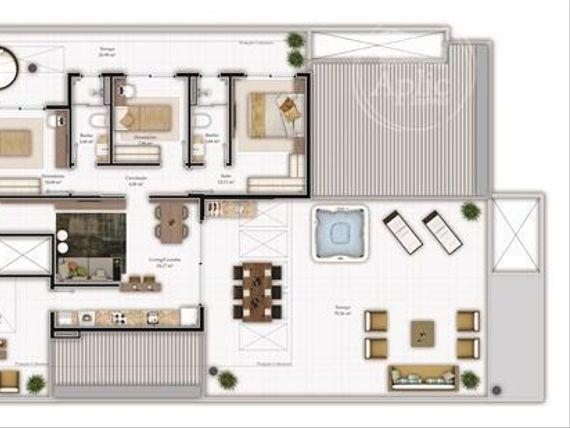"""Apartamento  residencial à venda, <span itemprop=""""addressLocality"""">Itacorubi</span>, Florianópolis."""