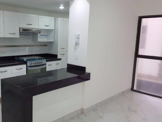 Depto Santa Cruz Atoyac, 83 m2, ext, 2 recs, 2 baños, bodega, 1 cajón