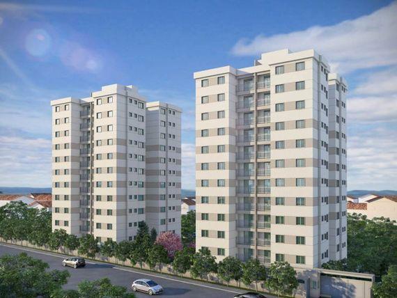 """Apartamento com 3 quartos e Playground, Minas Gerais, <span itemprop=""""addressLocality"""">Belo Horizonte</span>, por <span itemscope="""""""" itemtype=""""http://schema.org/TradeAction""""><span itemprop=""""price"""">R$ 290.870</span></span>"""