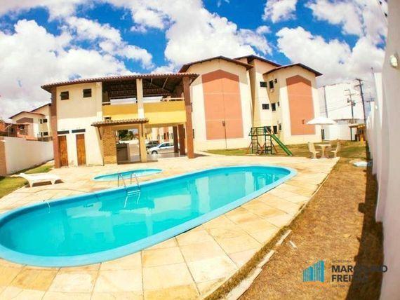 Apartamento residencial à venda, Mondubim, Fortaleza.