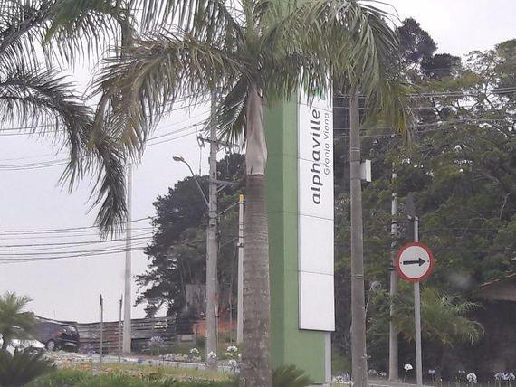 "Terreno residencial à venda, Alphaville Granja Viana, <span itemprop=""addressLocality"">Carapicuíba</span>."