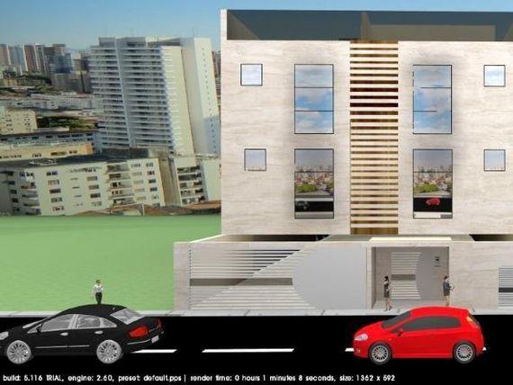 "Apartamento 41m² sem condomínio + 2 quintais, 2 dormitórios, 1 suíte, Vila Valparaíso, <span itemprop=""addressLocality"">Santo André</span>"