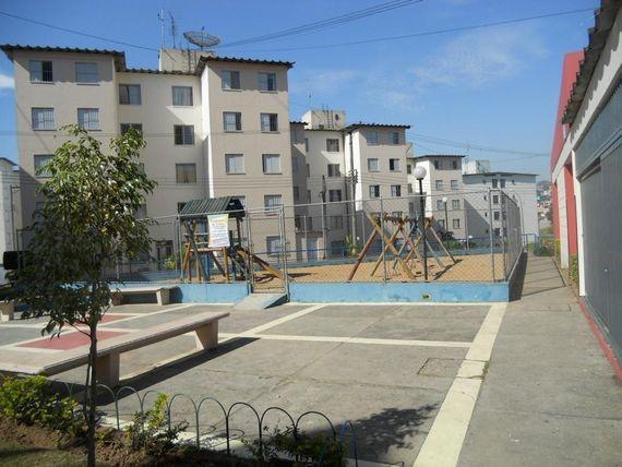 """Apartamento com 2 dormitórios à venda, 50 m² por <span itemscope="""""""" itemtype=""""http://schema.org/TradeAction""""><span itemprop=""""price"""">R$ 175.000</span></span>- <span itemprop=""""addressLocality"""">Cidade Satélite Santa Bárbara</span> - São Paulo/SP"""