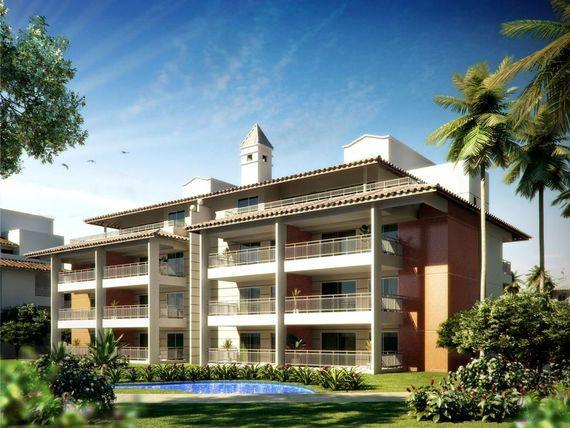 "Apartamento à venda, 203 m² por <span itemscope="""" itemtype=""http://schema.org/TradeAction""><span itemprop=""price"">R$ 818.306</span></span>- <span itemprop=""addressLocality"">Porto das Dunas</span> - Aquiraz/CE"