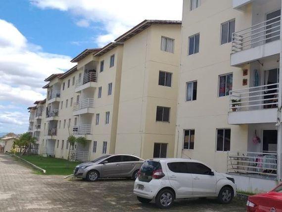 "Apartamento com 3 dormitórios à venda, 63 m² por <span itemscope="""" itemtype=""http://schema.org/TradeAction""><span itemprop=""price"">R$ 165.000</span></span>- Tamatanduba - <span itemprop=""addressLocality"">Eusébio</span>/CE"