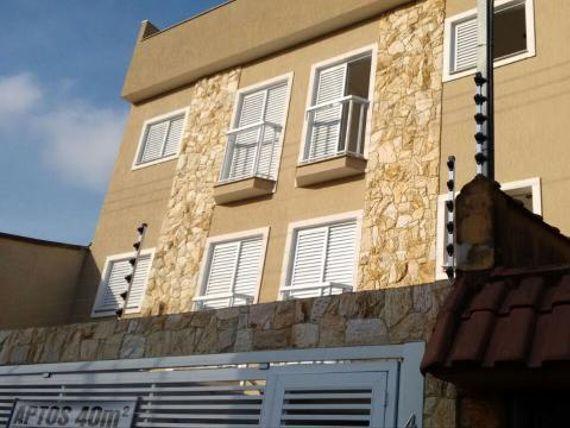 """Apartamento sem condomínio 40m² 2 dormitórios, 1 vaga Bairro Jardim do Estadio - <span itemprop=""""addressLocality"""">Santo André</span>"""