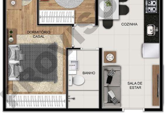 """Apartamento com 2 dormitórios à venda, 36 m² por <span itemscope="""""""" itemtype=""""http://schema.org/TradeAction""""><span itemprop=""""price"""">R$ 183.650</span></span>- <span itemprop=""""addressLocality"""">Sacomã</span> - São Paulo/SP"""