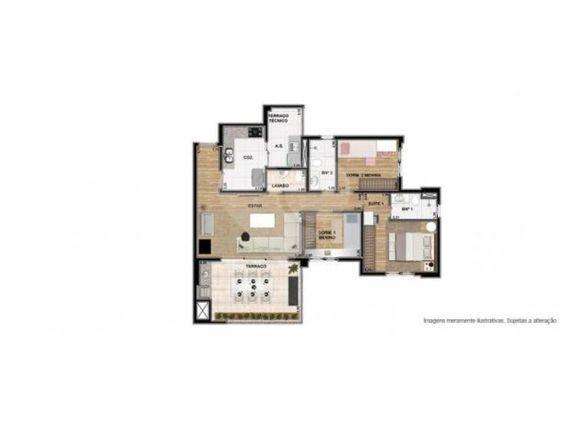 """Apartamento à Venda em <span itemprop=""""addressLocality"""">Tatuapé</span>"""