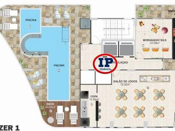 """Apartamento em <span itemprop=""""addressLocality"""">Praia Grande</span> - Aviação"""