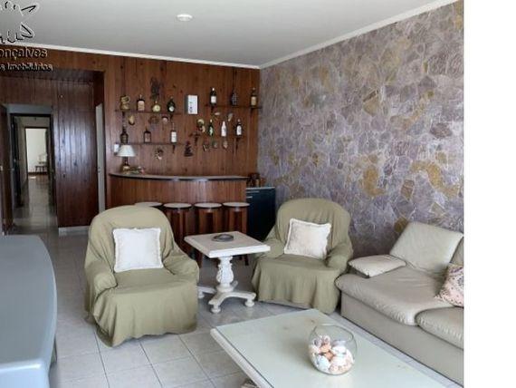 """Excelente apartamento mobiliado, frente ao mar de 3 dormitórios no bairro do Itararé na cidade de <span itemprop=""""addressLocality"""">São Vicente</span> - SP."""