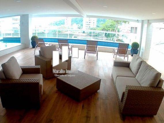 """Apartamento no Canto do Forte <span itemprop=""""addressLocality"""">Praia Grande</span> SP."""